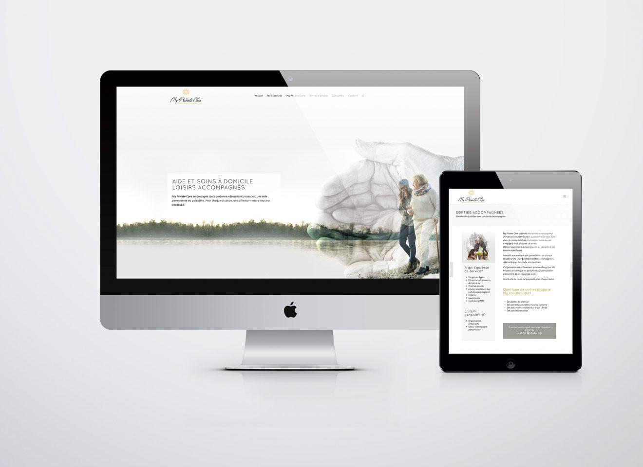 Création site web responsive design
