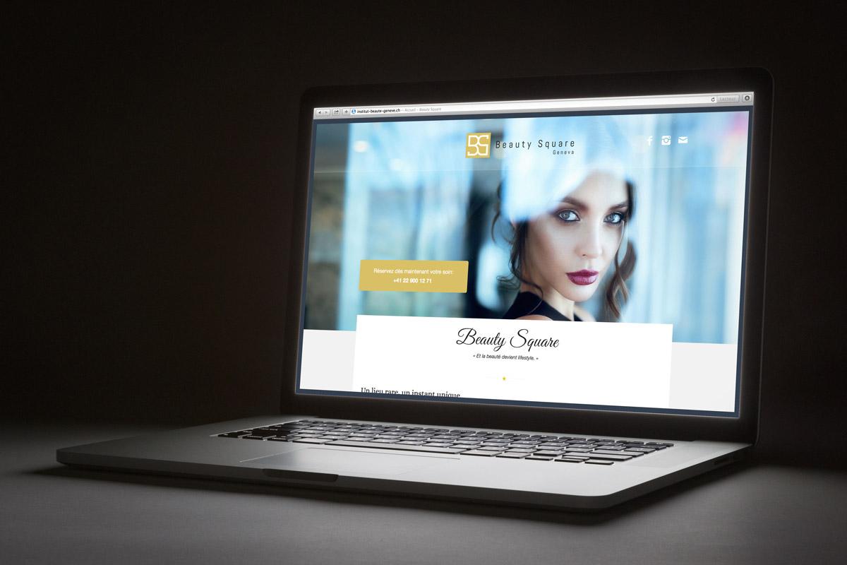Création d'une image de marque pour Beauty Square - atelierssud