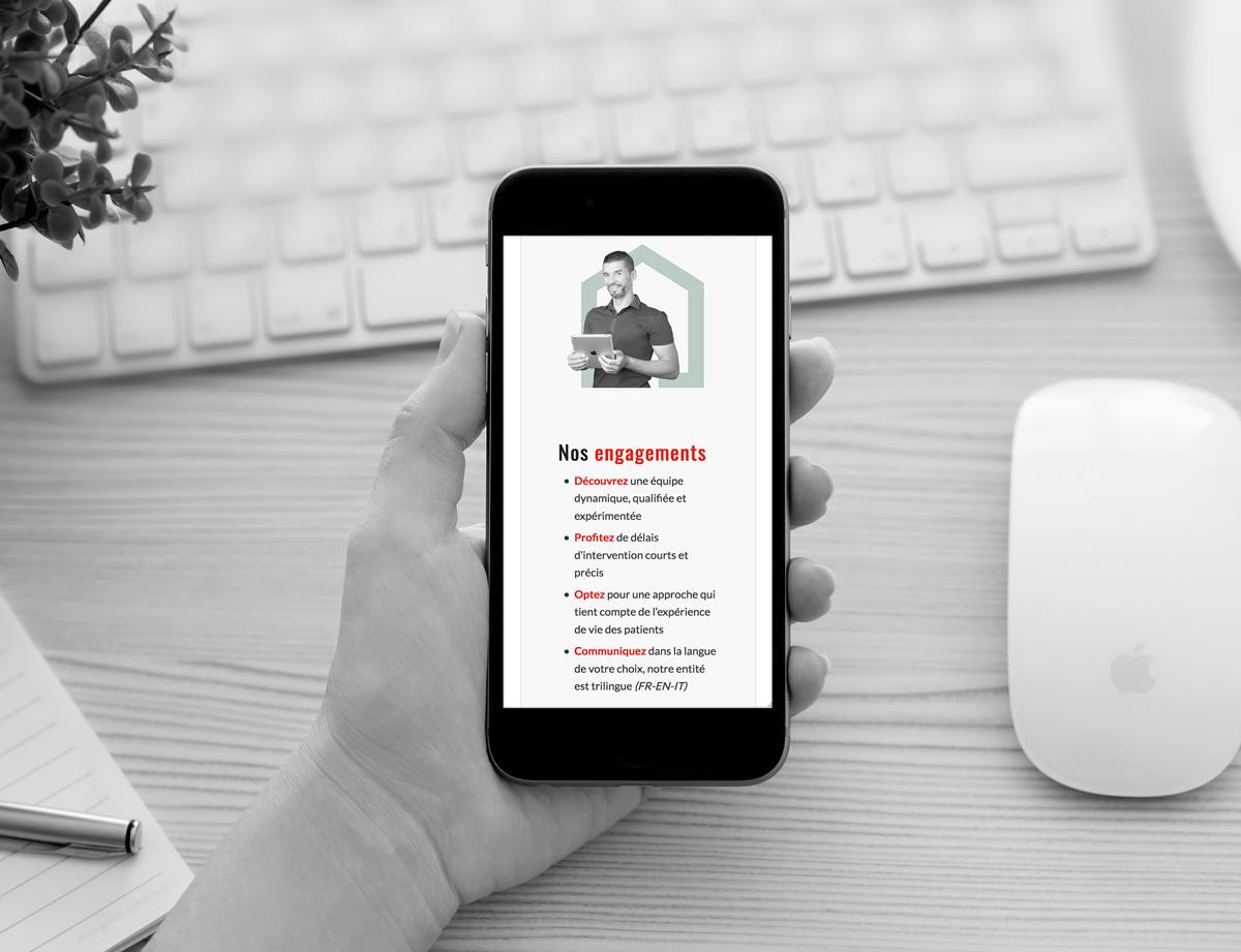 Création d'un site internet responsive design