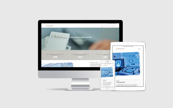 Création site internet Radiologie